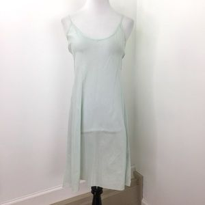 Johnny Was Pale Blue Cotton Slip Nightgown Dress